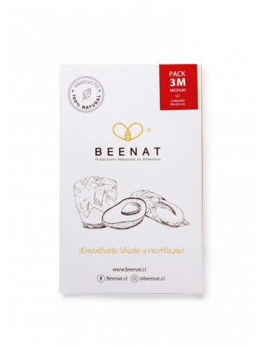 Pack Beenat 3M (Mediano 26 x 26 cms.)