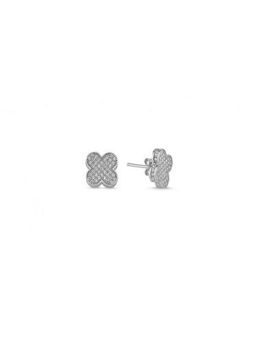 Aros Anacapri plata 925 microcircones...