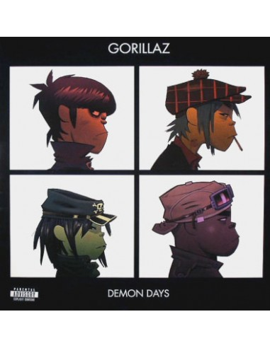 Vinilo Gorillaz - Demon Days
